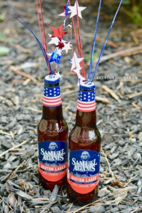 Celebrate Memorial Day, The Fourth of July, Veterans Day or more with this patriotic spin on beer. This six pack of patriotic themed beer would make a great gift idea. It would also be something to bring with you to a BBQ that will be sure to captivate and bring out the red, white, and blue.