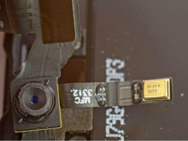 снятие передней камеры iphone 5