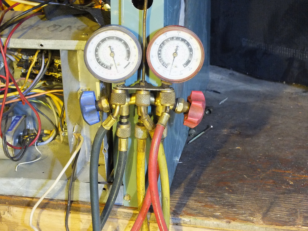 Refrigeration tools  Gray Cooling Man Air Conditioning Repair Advice