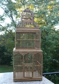 Tower Decorative Birdcage - Wedding Table Accessory - Tall ...