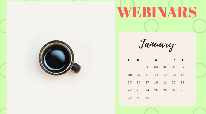 Let's Talk About Today's Webinars