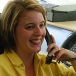 Telefonistin Jenni Perez
