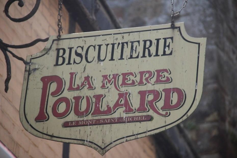 Sign Biscuiterie La Mère Poulard