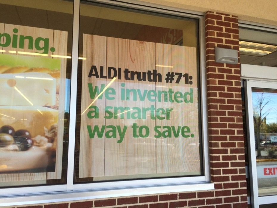 Aldi Truth #71 - We invented a smarter way to save