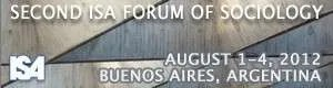 Conferences: 2nd ISA Forum of Sociology