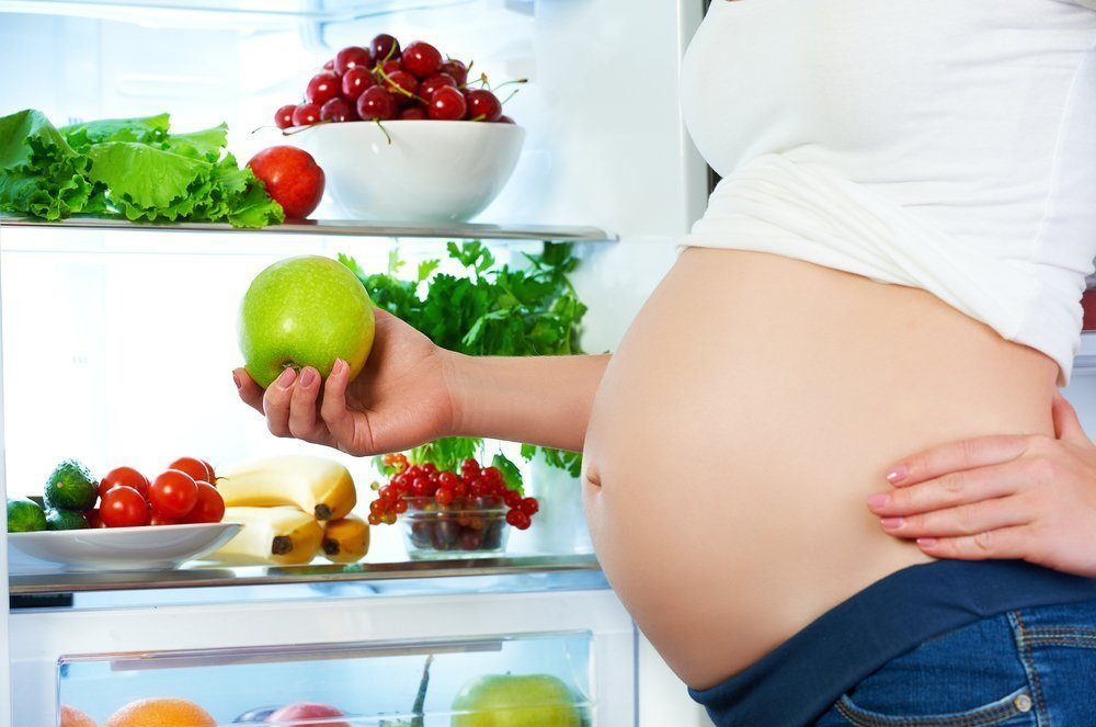 Normalization of the diet - the basis of combating heartburn during pregnancy