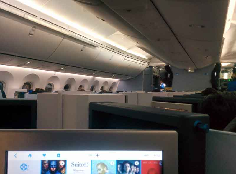 klm new world business class full flat seats laid back traveller