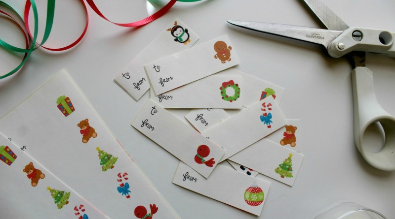 Printable Christmas Gift Labels