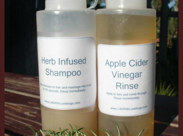 How to Make Herb Infused Shampoo