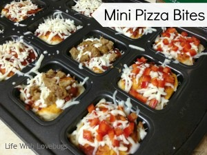 Individual Mini Pizza Bites Life With Lovebugs
