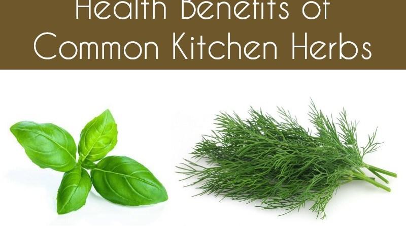 Health Benefits of Common Kitchen Herbs