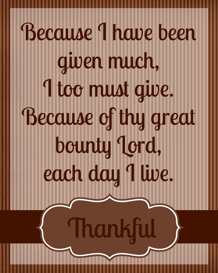 Thanksgiving Printables To Decorate For The Holidays