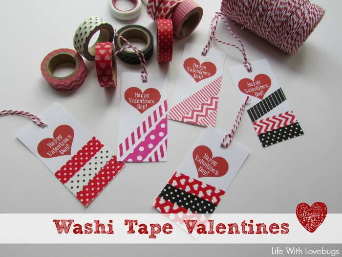 How to Make Washi Tape Valentines!