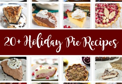 20+ Delicious Holiday Pie Recipes