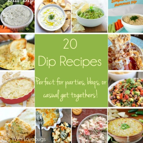 20 Party Perfect Dip Recipes