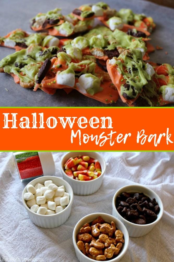 Halloween Monster Bark
