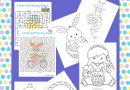 Easter Activity and Coloring Pages for Kids