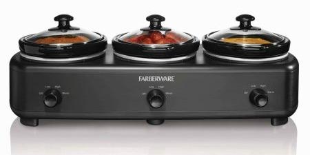 Faberware Triple Slow Cooker