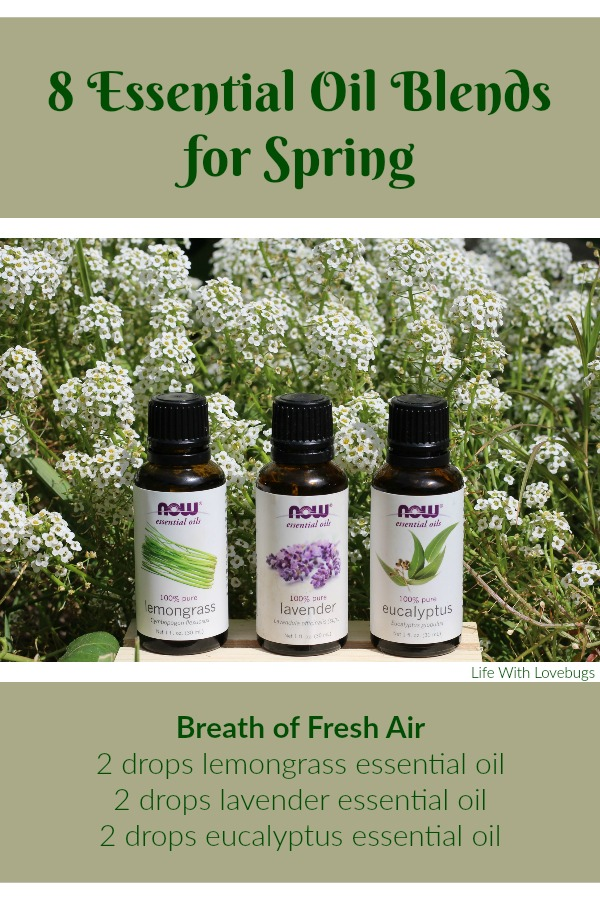 8 Essential Oil Blends for Spring