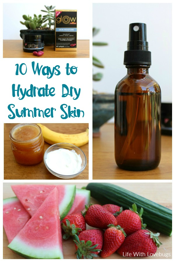 10 Ways to Hydrate Dry Summer Skin