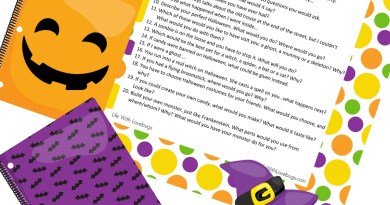 20 Halloween Creative Writing Prompts for Kids