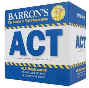Barron's ACT Flashcards