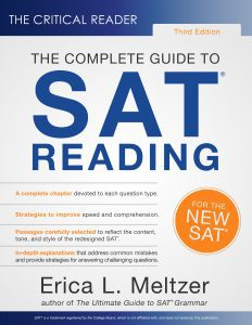 The Critical Reading: The Complete Guide to SAT Reading (Best SAT Prep Books)