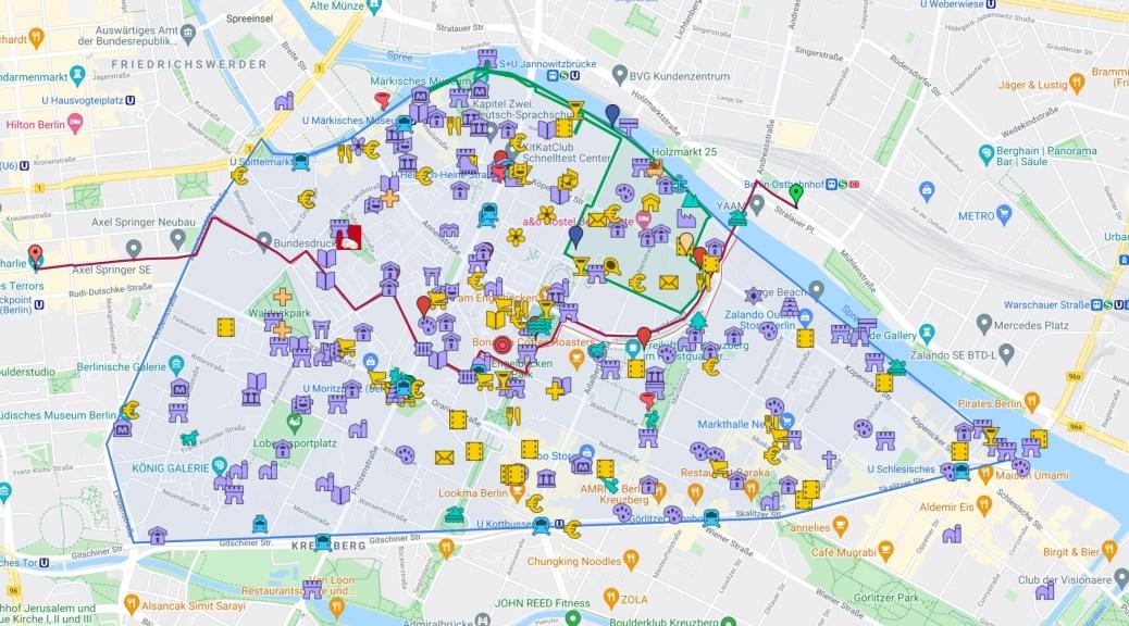Luisenstadt Interaktive Karte