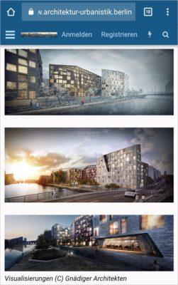 Screenshot Forum www.Architektur-Urbanistik.berlin