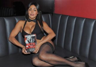 Rick's Cabaret NYC Girl with Artie Lange book