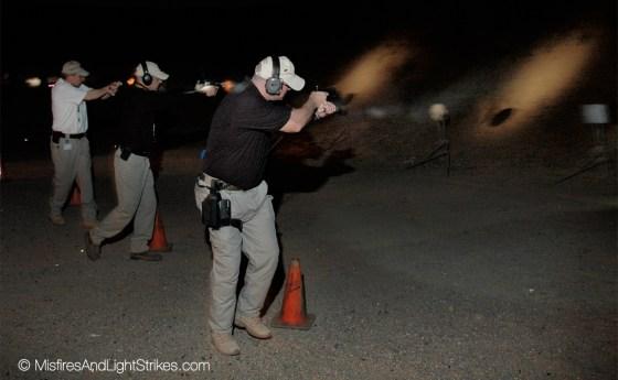 Training at night