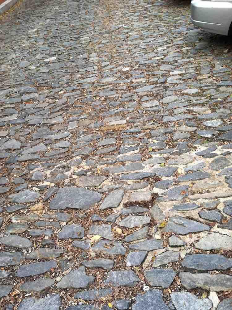 visit the 18th century cobblestone streets in Georgetown, Washington DC