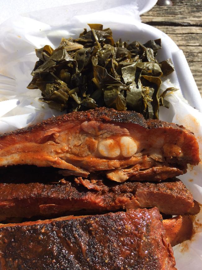 try the ribs at Ace Biscuit & Barbecue, Charlottesville, Virginia