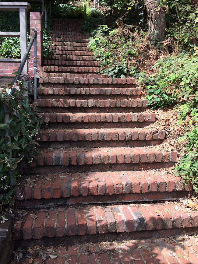 San Francisco stairways: Greenwich Steps