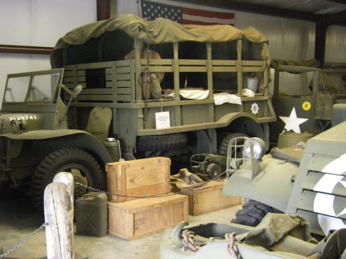 Richard Harrison Military Vehicle Collection at Grant County Museum