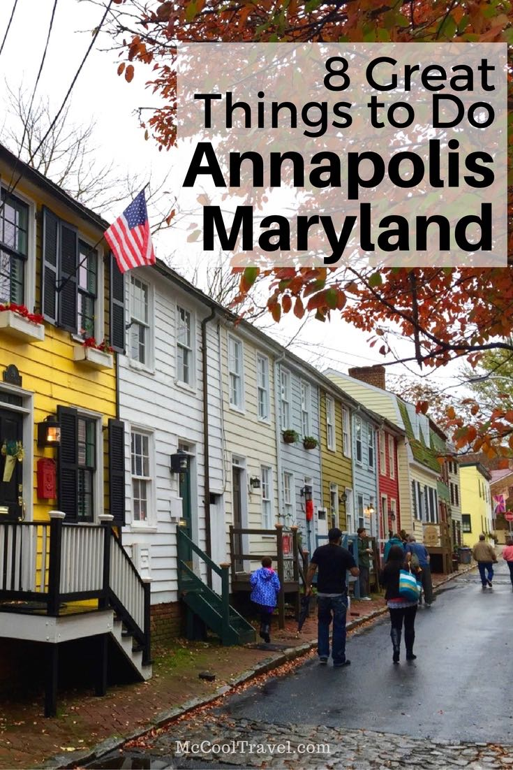 8 great things to do in Annapolis is my curated list of fun activities, historic destinations, and tasty dining and drink in Maryland's capital city.