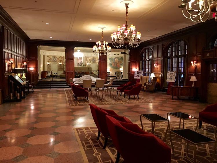 Hotel Roanoke lobby, hotels near Blacksburg