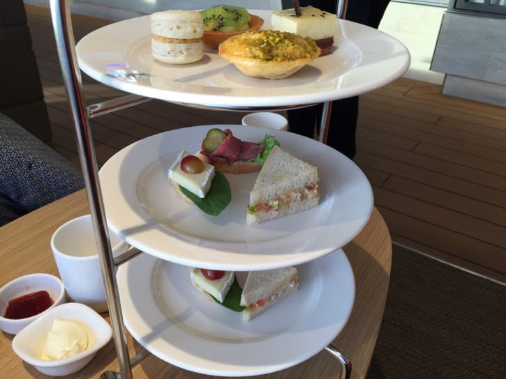 Viking Star dining options: Wintergarden afternoon tea