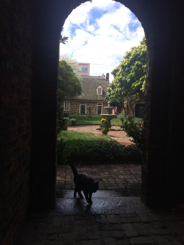 things to do in Richmond Virginia: Poe Museum, Enchanted Garden