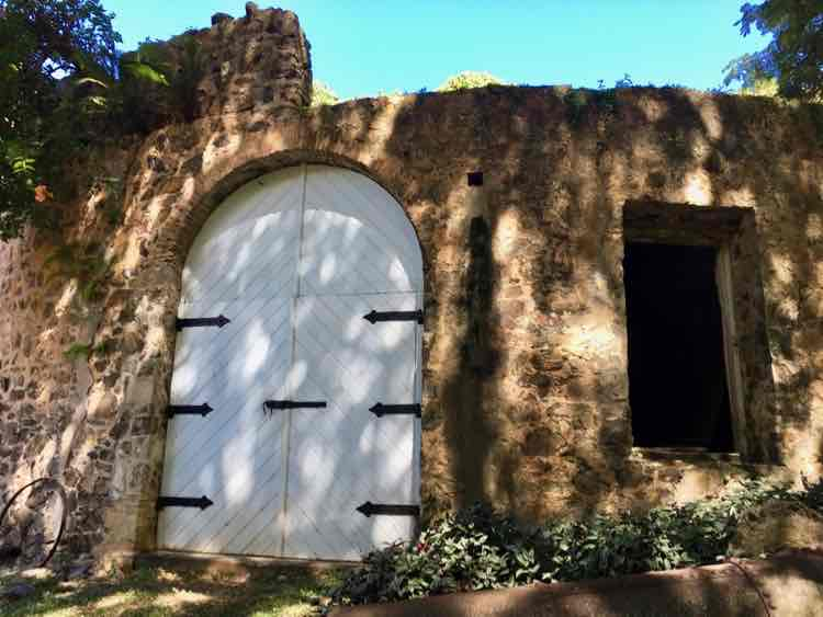 things to do in St. Croix: sugar mill ruin