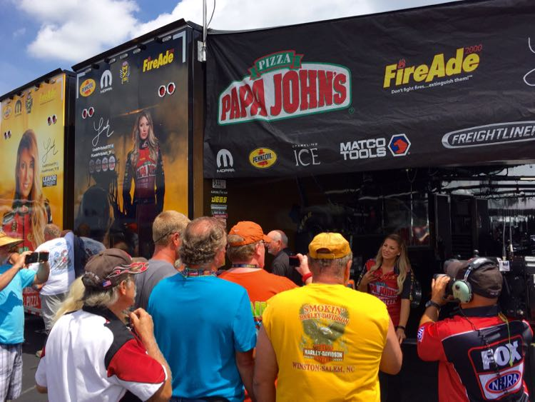 zMAX Dragway Pit Cabarrus County NC