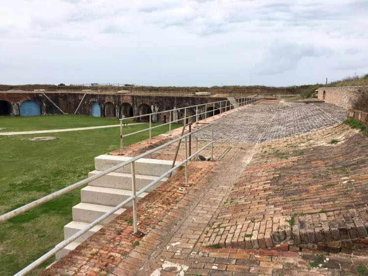 historic Fort Morgan in Gulf Shores Alabama. Article and photo by Charles McCool for McCool Travel.