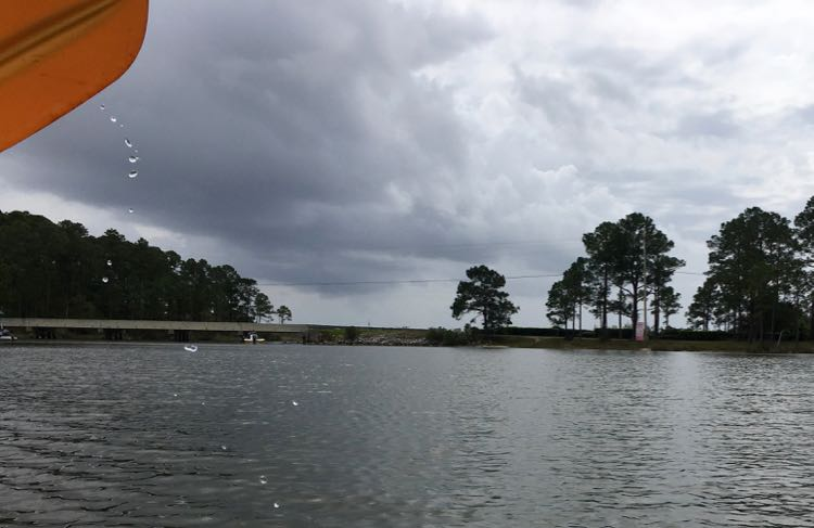 kayaking on Bon Secour River, Gulf Shores Alabama. Article and photo by Charles McCool for McCool Travel.