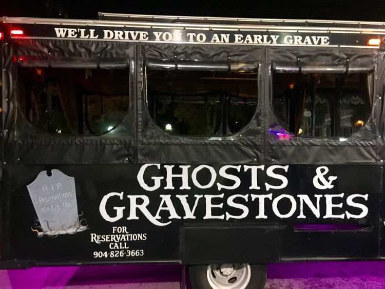 Ghosts & Gravestones Tour in a fun thing to do in St Augustine FL