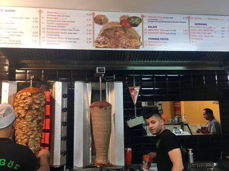 order the Doner in a Box from Yede-Gör