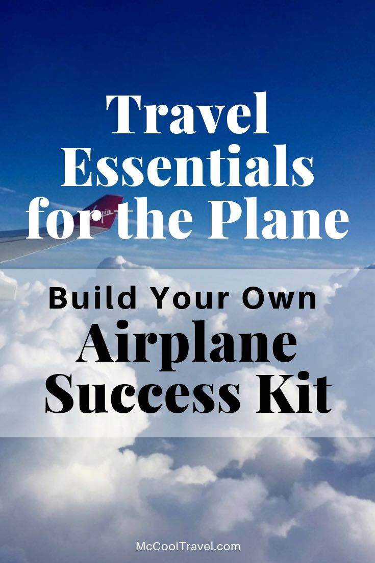 Pack travel essentials for the plane in an organized and easy to handle bag, and you'll save time and stress on every flight.
