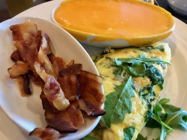 Custom omelette breakfast at Posh with Carnival Cruise Line