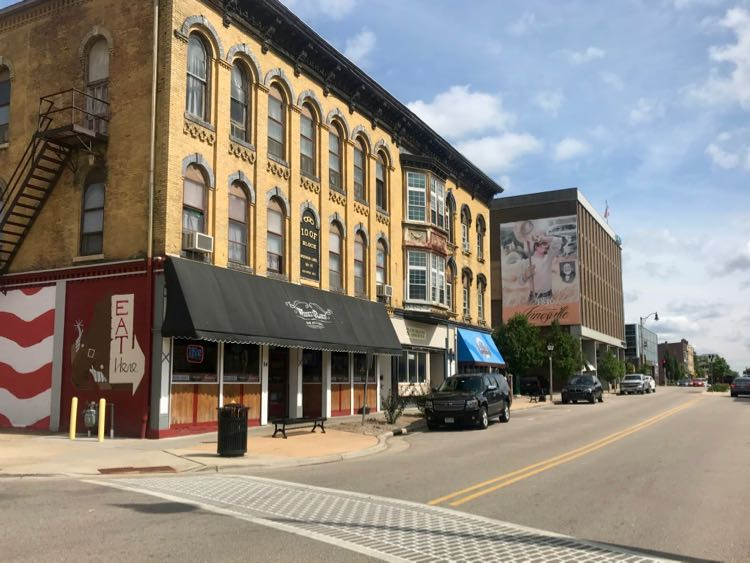 Downtown Janesville Wisconsin