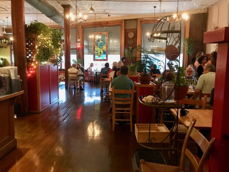 Paul and Elizabeths restaurant in Northampton MA