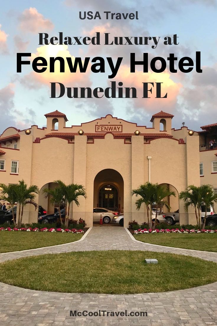 Fenway Hotelin Dunedin Florida is a classic US Gulf Coast hotel & embraces its music history past, reflected in their tagline of A Place Humming With Soul.